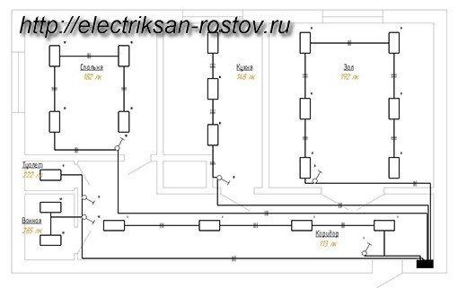 Материал для электропроводки в квартире и доме стоимость